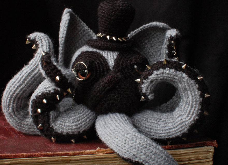 The Forecast Calls For Knit and Crochet … Oh, No! It's Raining Octocats and Octodogs!