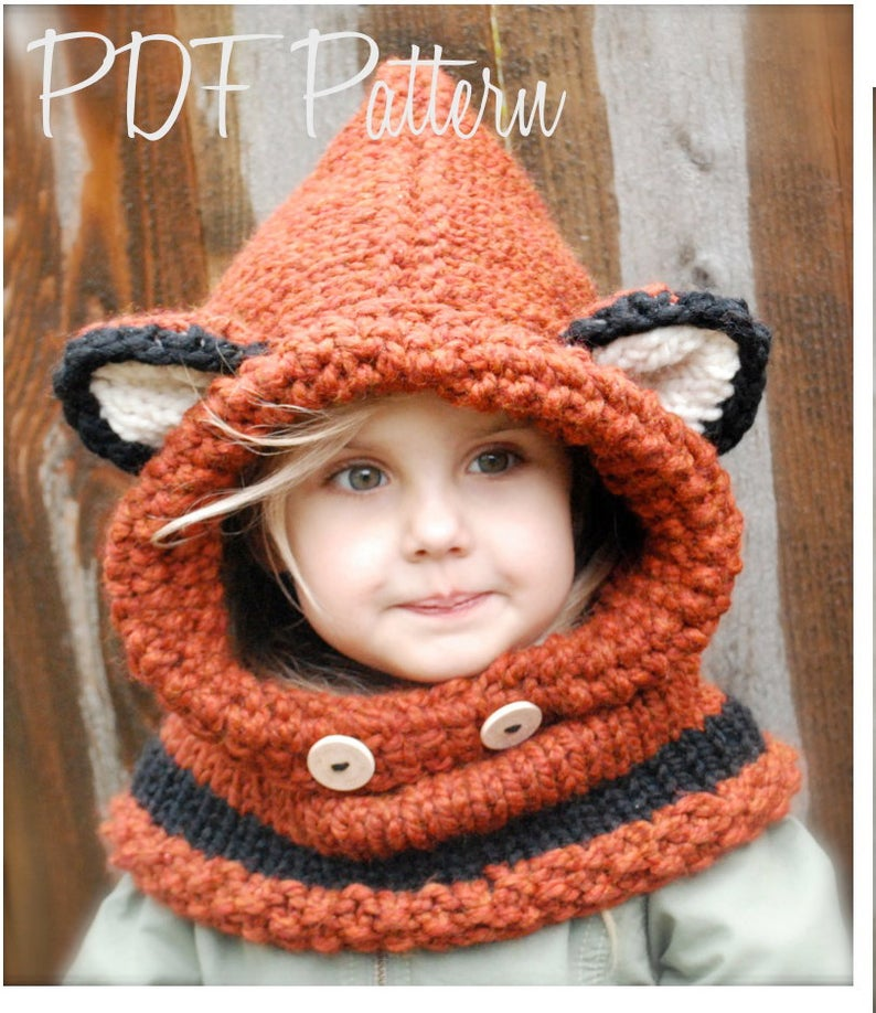 I Made a Failynn Fox Cowl and You CAN TOO ... Get The Pattern in Knit OR Crochet!
