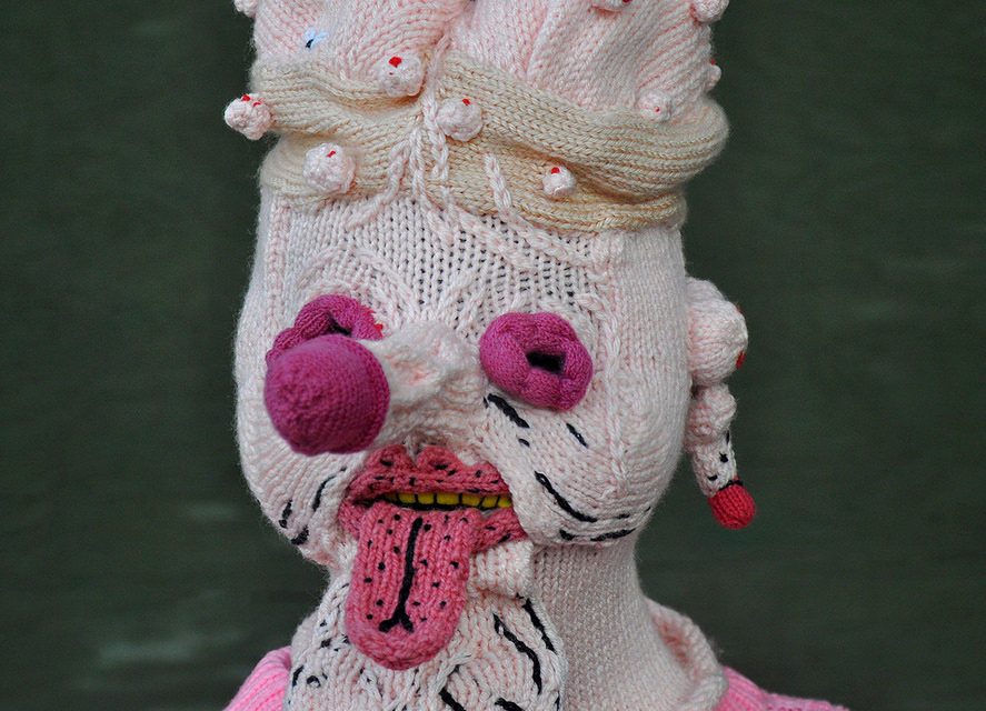 Peculiar & Perfect — Knit Mask By Tracy Widdess, In Collaboration With James Unsworth