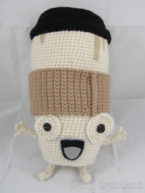 This Coffee Cup Amigurumi Is Cute, But It Doesn't Satisfy Cravings For Caffeine