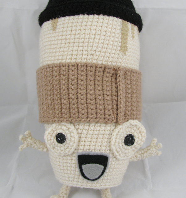 This Coffee Cup Amigurumi Is Cute, But It Doesn't Satisfy Cravings For Caffeine …
