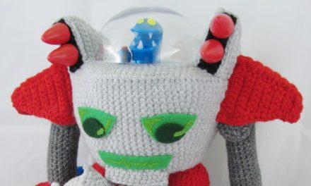 Monster Tale Robot Doll – Crocheted by Meri Greenleaf (Elfling Creations)