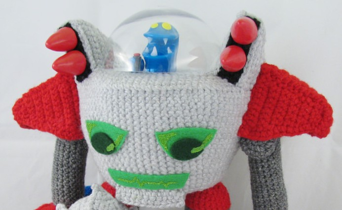 Monster Tale Robot Doll – Crocheted by Meri Greenleaf (Elfling Creations)