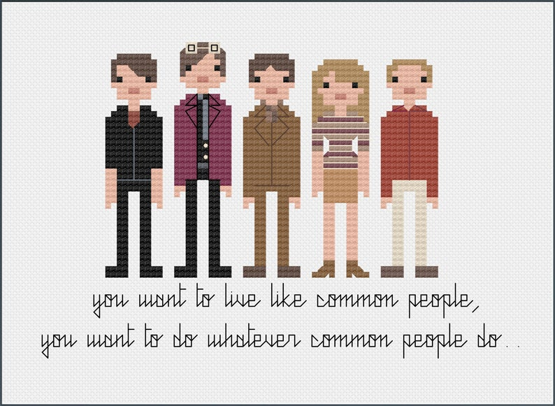 Get the PDF cross stitch pattern from 8bitnorth #crossstitch #xstitch #popculture #8bit