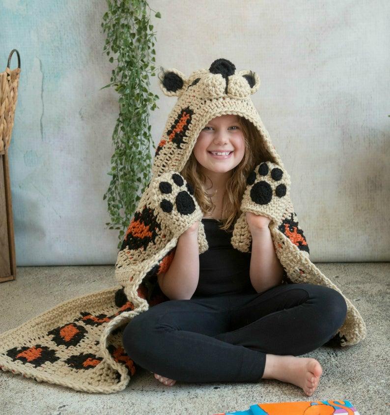 Get the crochet pattern, designed by Michelle Moore of MJ's Off The Hook Designs crochet #crochet