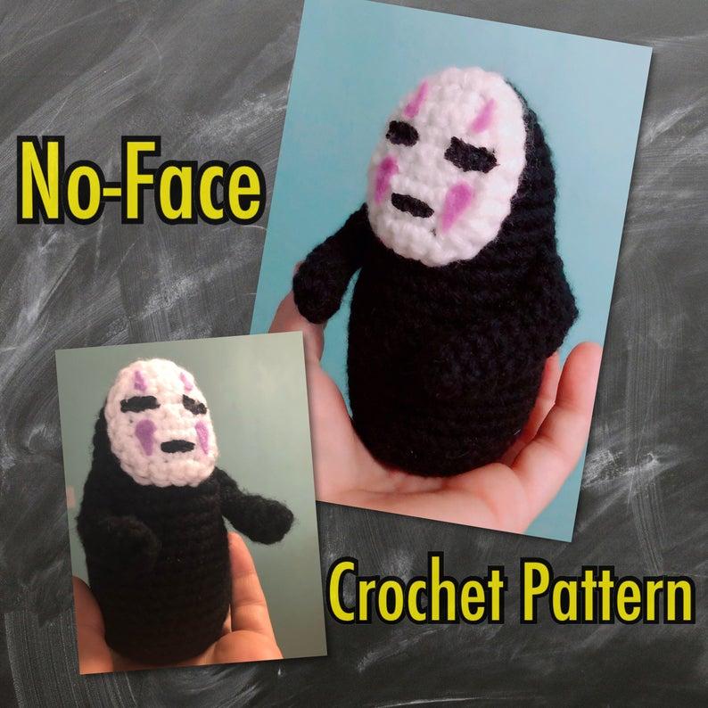 No-Face (Kaonashi) Mittens, Amigurumi & Chart ... Plus FREE Knit & Crochet Patterns!