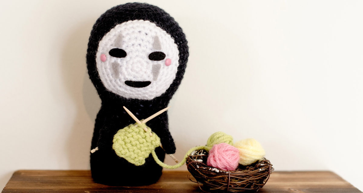 No-Face (Kaonashi) Mittens, Amigurumi & Chart … Plus Knit & Crochet Patterns!