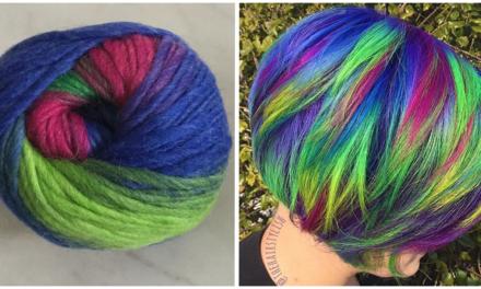 Magical Mermaid Hair … Inspired by Yarn?