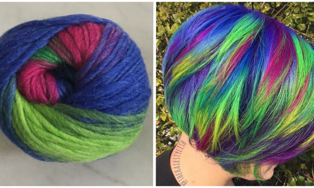 Magical Mermaid Hair … Inspired by Yarn?