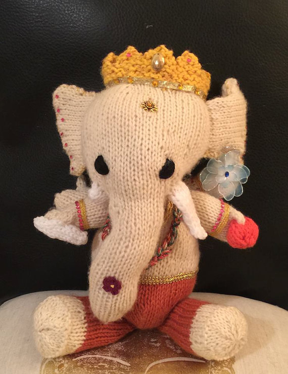 Go Around the World Seven Times With Ganesha - FREE Crochet Patterns
