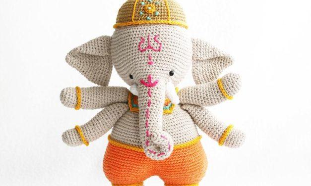 Crochet an Intricate Ganesha Amigurumi, Must-Make!