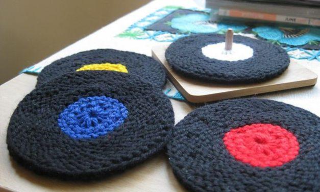 Knit a Vinyl Record