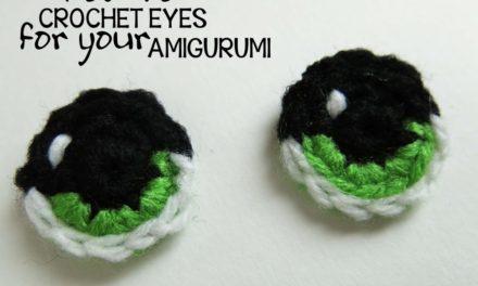 Learn to Crochet Amigurumi Eyes With Tanya Naser
