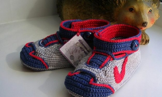 Most Adorable Crochet Baby Sneakers Ever!