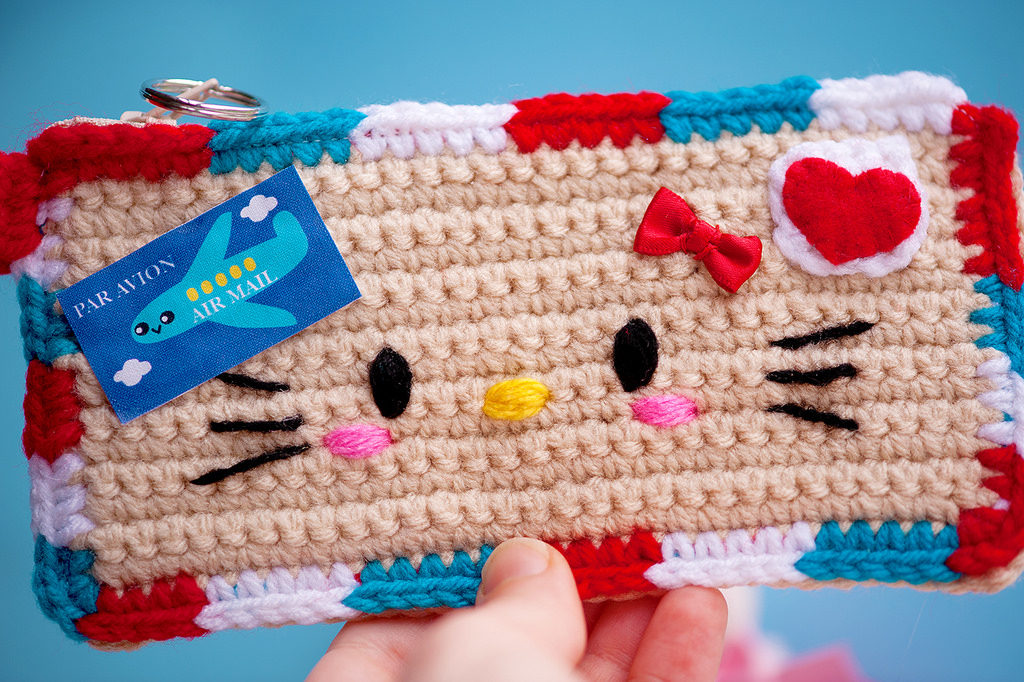 When Your Pen Pal is All About Hello Kitty, This is What You Crochet ...