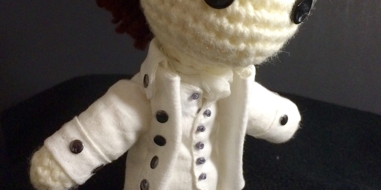 She Crocheted a Little Hamilton Amigurumi