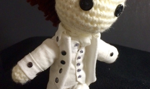Little Hamilton Amigurumi