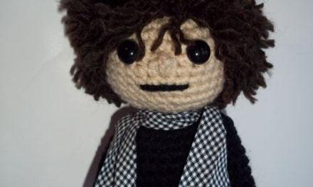 Happy Birthday Bob Dylan! Every 75 year old should have their own amigurumi!