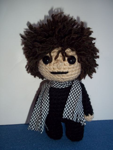 Happy Birthday Bob Dylan! Every 75 year old should have their own amigurumi!