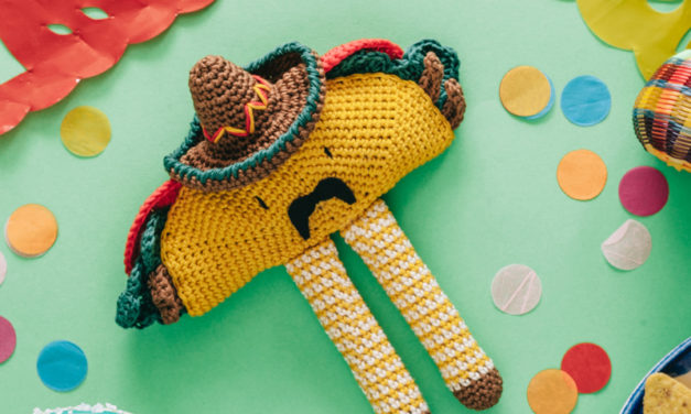 Señor Taco Amigurumi Has Arrived … Just in Time for Cinco de Mayo!