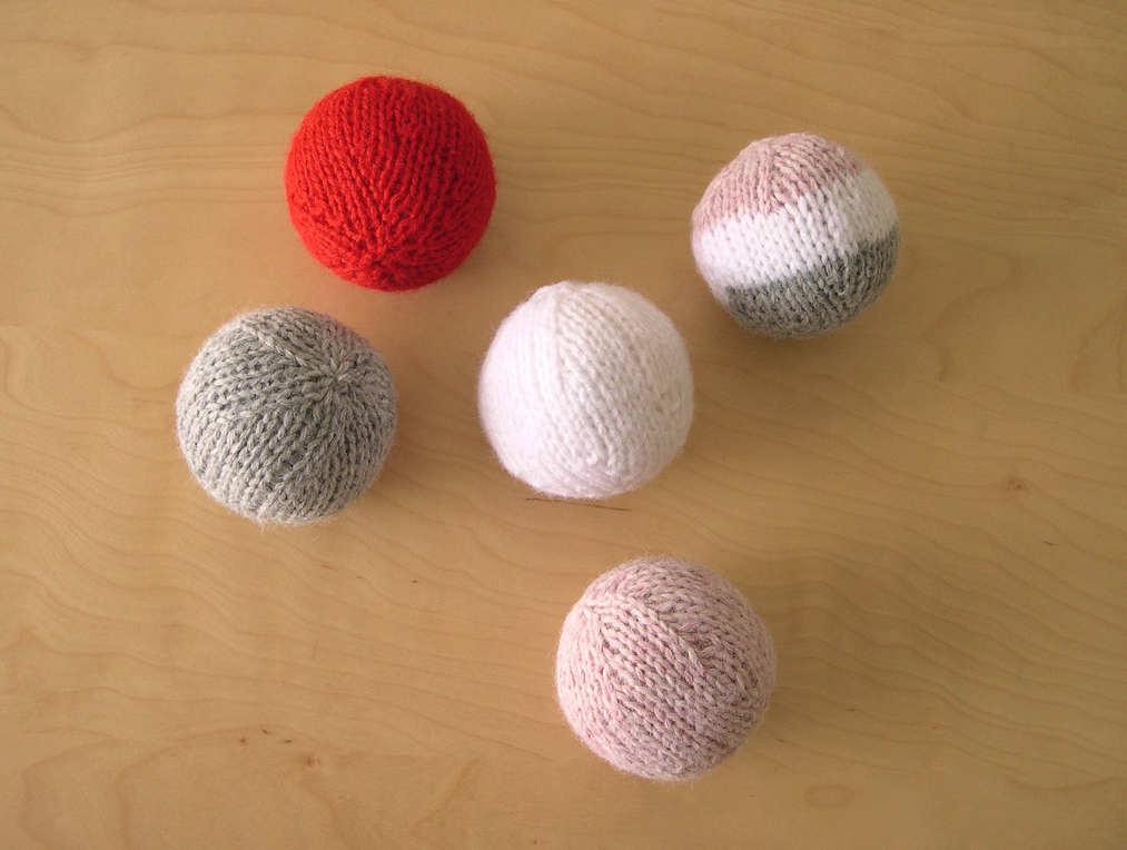 Knit Balls by  Marcie Nishioka