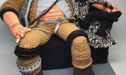 The Fourth Awakens with CraftyIsCool's Incredible Crochet Grummgar and Bazine Figures