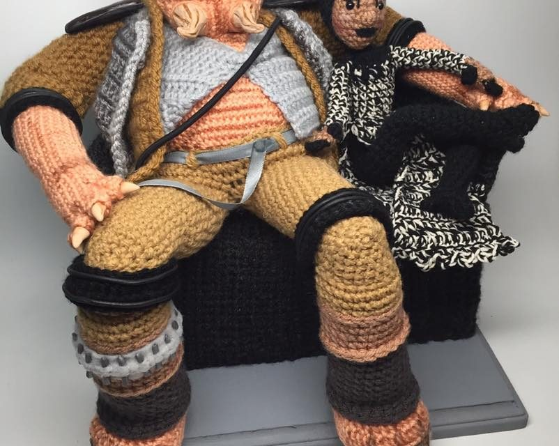 The Fourth Awakens with CraftyIsCool's Incredible Crochet Grummgar and Bazine