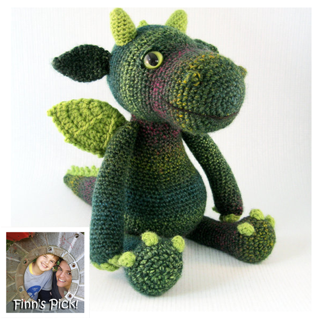 Finn's Pick: Cute and Cuddly Dragon Amigurumi - Get the Pattern!