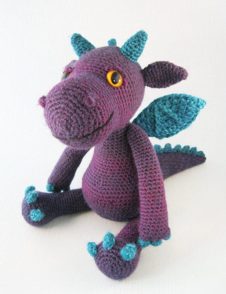 Finn's Pick: Cute and Cuddly Dragon Amigurumi - Get the Pattern!
