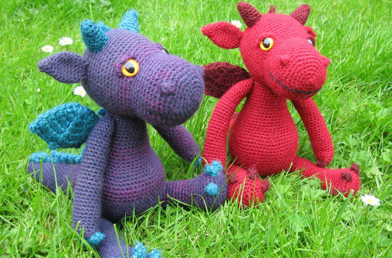 Finn's Pick: Cute and Cuddly Dragon Amigurumi