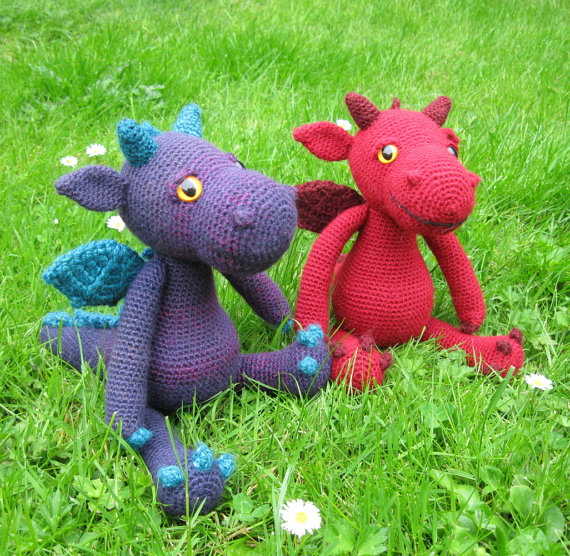 Finn's Pick: Cute and Cuddly Dragon Amigurumi – Get the Pattern!
