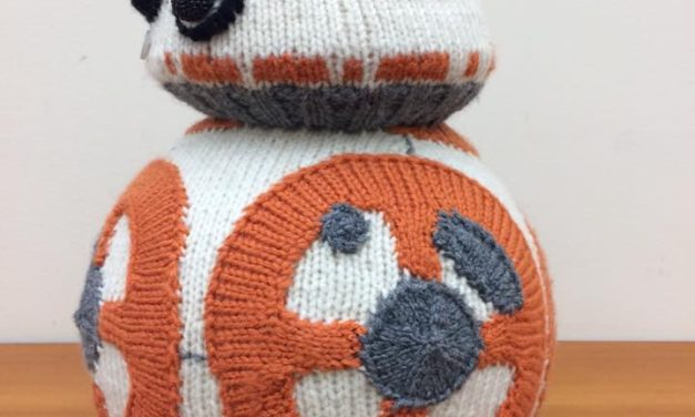 My Favorite BB-8 – Knit by K80K80K80
