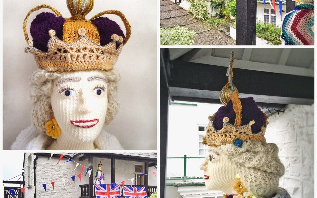 All Hail the Queen of Purl – Ellie Jarvis Knit This Marvelous Life Size Queen Elizabeth II!