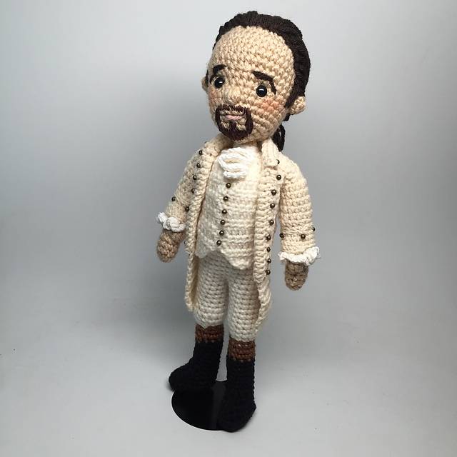 Her New Hamilton Amigurumi is the Best One Yet - Outstanding!