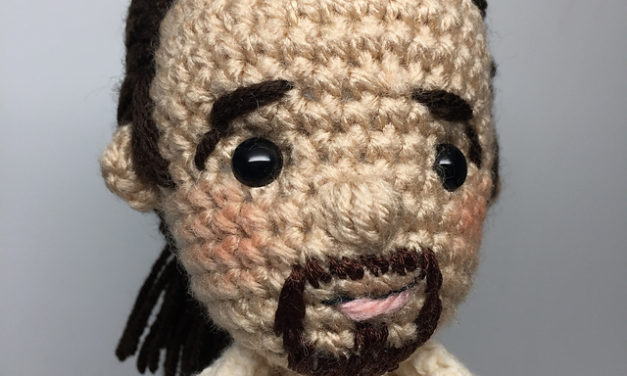 Her New Hamilton Amigurumi is the Best One Yet – Outstanding!