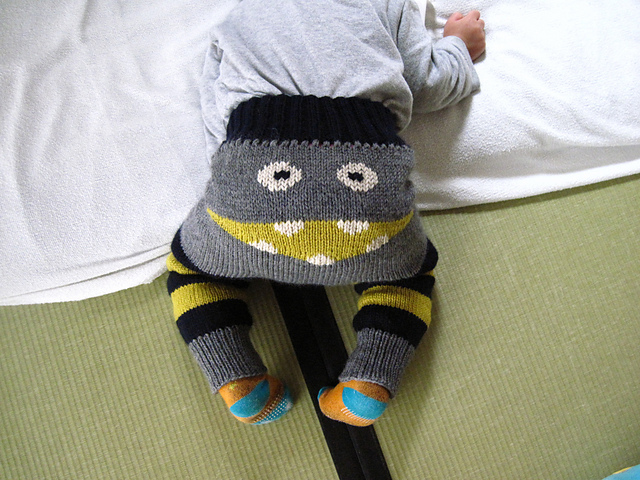 More Monster Pants - Get the FREE Knit Pattern!