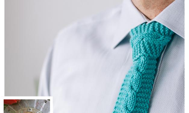Finn's Pick: Knit Father's Day Tie – Free Pattern!