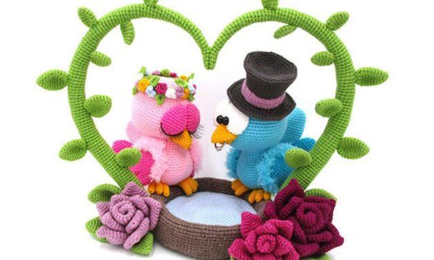 Say 'I Do' With Handmade Wedding Amigurumi!