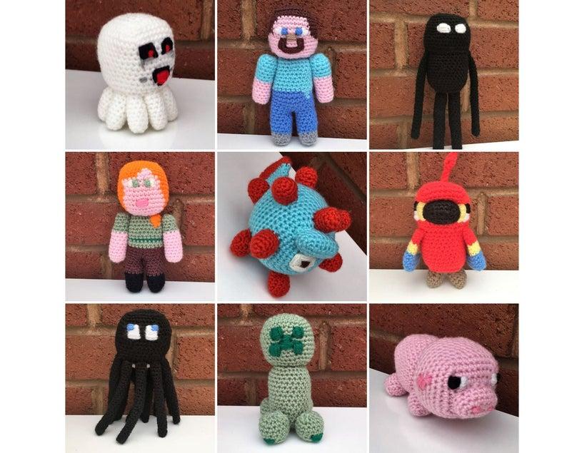 Finn's Favorite Minecraft-Inspired Patterns For Crocheters!