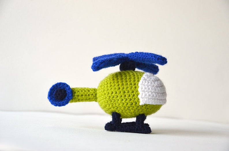 crochet helicopter patterns