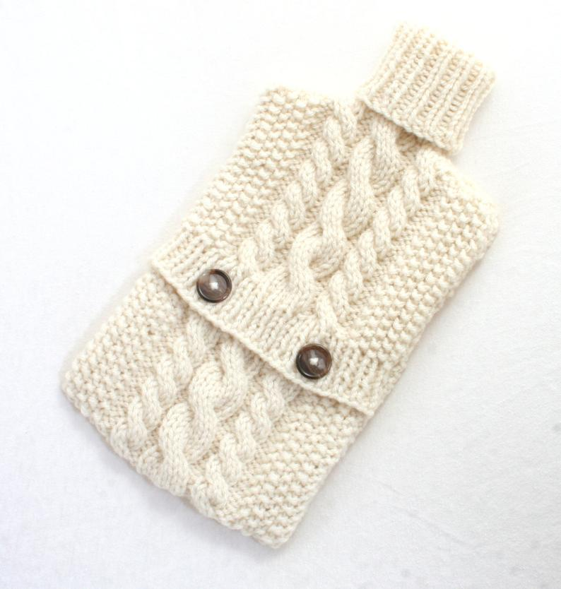 Knit Hot Water Bottles #knitting