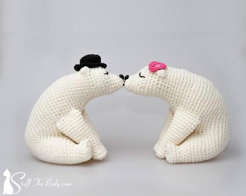 Say 'I Do' With Handmade Wedding Amigurumi! #crochet