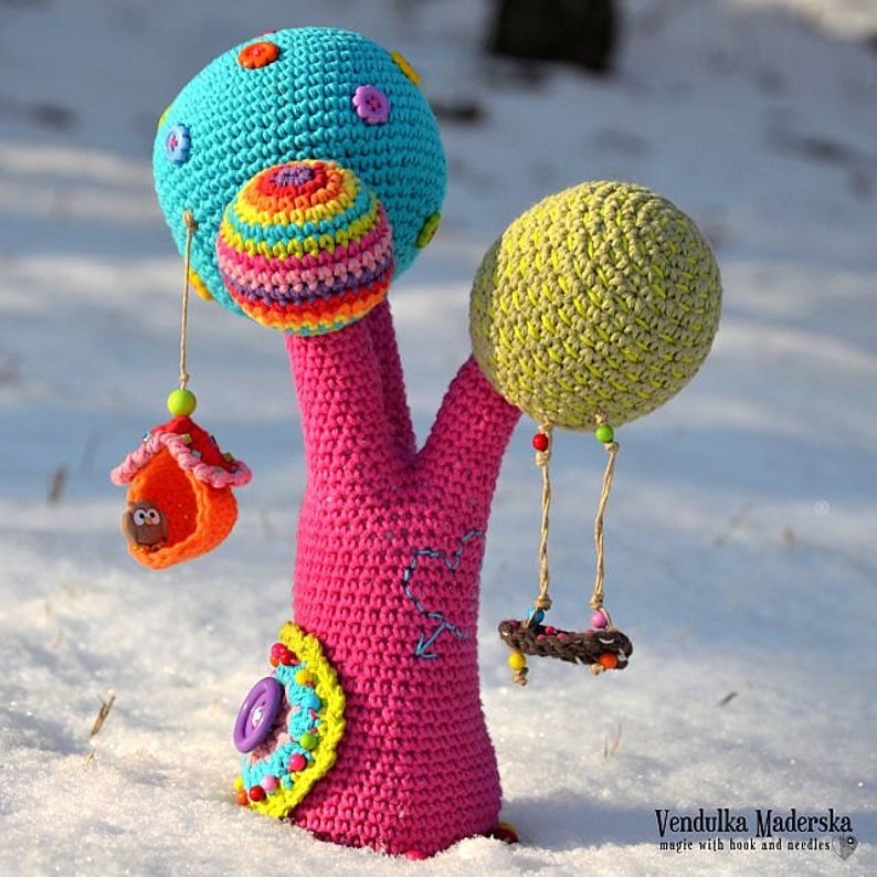 Crochet patterns by Vendula Maderska #crochet