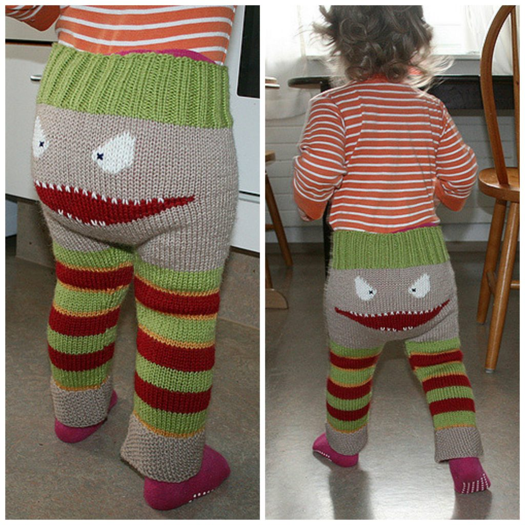 More Monster Pants Get The Free Knit Pattern Knithacker