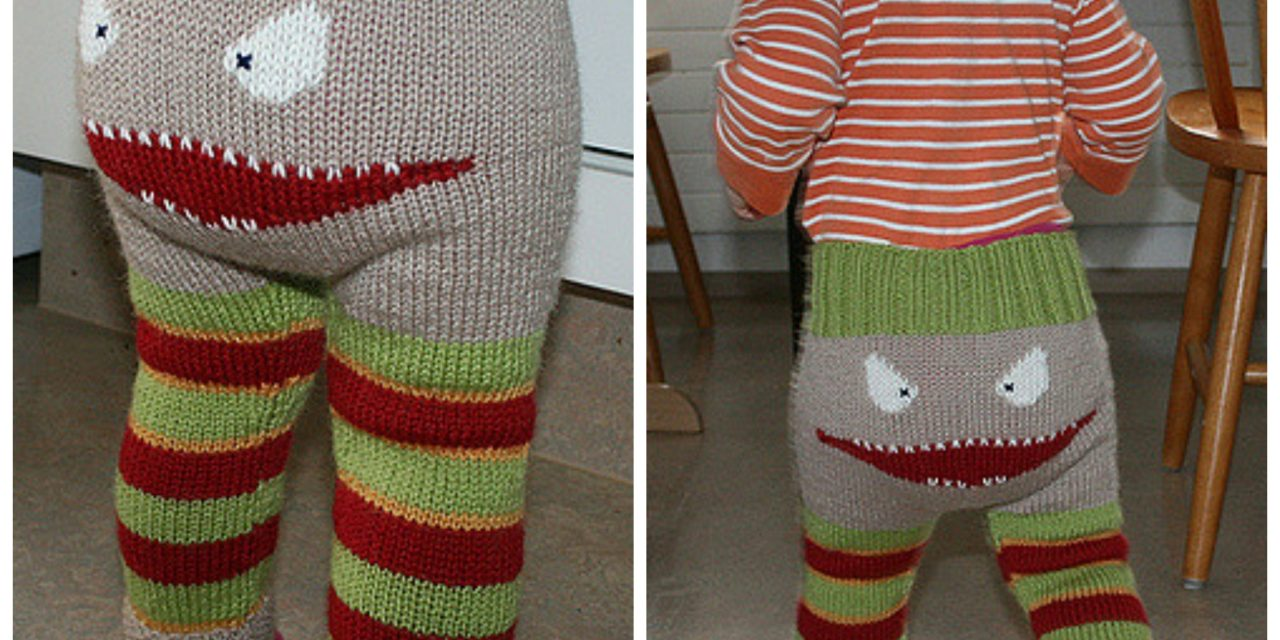 More Monster Pants – Get the FREE Knit Pattern!
