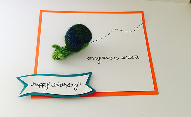 "Rescue a Missed Birthday With This Clever Use of ""Snail Mail"""