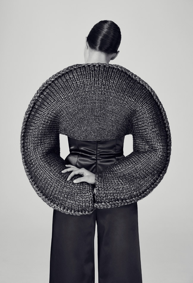 Is It a Sweater? Is It a Sculpture? In Knitting, Can It Be Both?