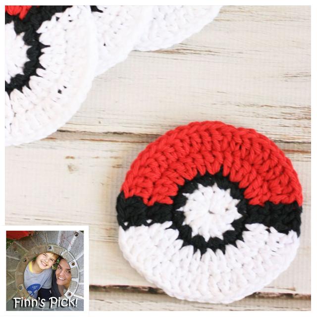 Finn's Pick: Pokémon Go Poké Ball Coasters