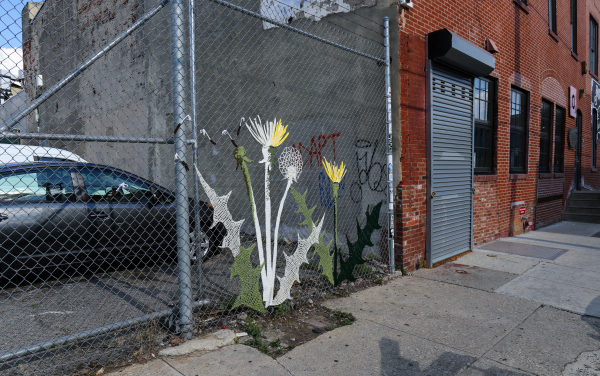 Blossoming Yarnbomb Spotted in Philadelphia