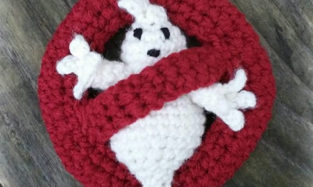 Crochet a Ghostbusters Logo – You Ain't Afraid of No Ghosts!